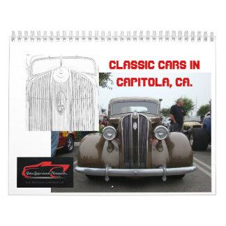Classic Cars in Capitola, Ca Calendars