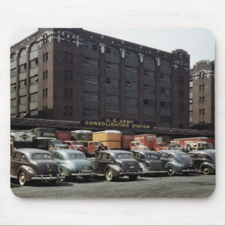 Classic Cars in Color, 1943 Mouse Pad