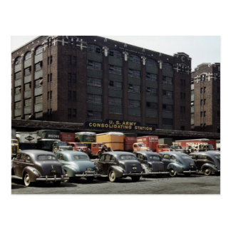 Classic Cars in Color, 1943 Postcard