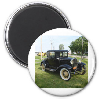 Classic Cars Refrigerator Magnets