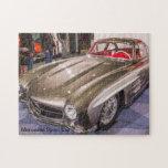 "Classic Cars - Mercedes Sport Car Jigsaw Puzzle<br><div class=""desc"">This Classic Sport Car Series Jigsaw Puzzle features a Mercedes Sport Car</div>"