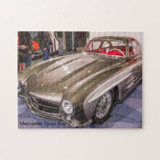 Classic Cars - Mercedes Sport Car Jigsaw Puzzle
