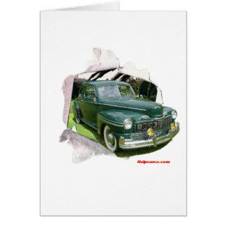 Classic Cars Mercury Card