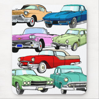 Classic Cars Mouse Pad
