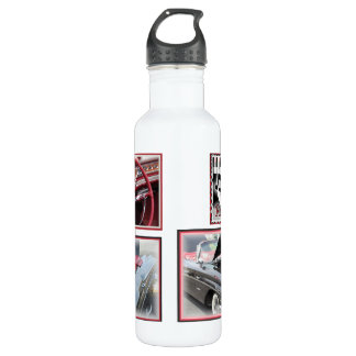 Classic Cars Stainless Steel Water Bottle