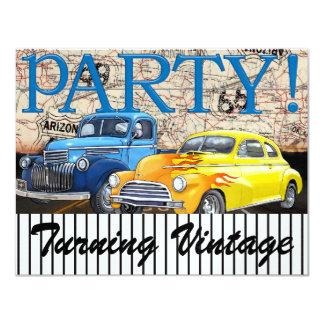 Classic Cars - Vintage - Route 66 - #3 - SRF Invitations