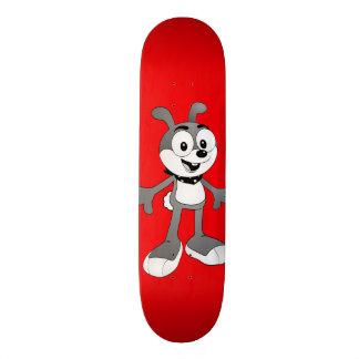 Classic Cartoon Bunny Red Skateboard