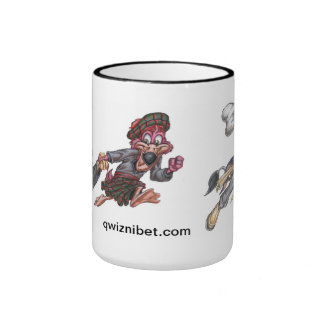 Classic Cartoon Coffee Mug | Qwiznibet Square