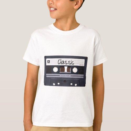 Classic Cassette Tape T_Shirt