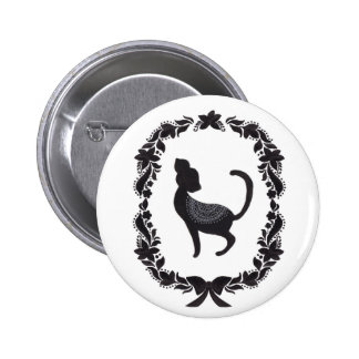Classic Cat Pinback Button