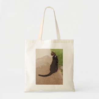 Classic Cat Pose Tote Bag