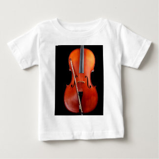 Classic cello on black baby T-Shirt