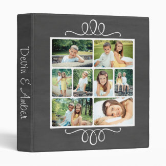 Classic Chalkboard Photo Album with Chic Details Binder