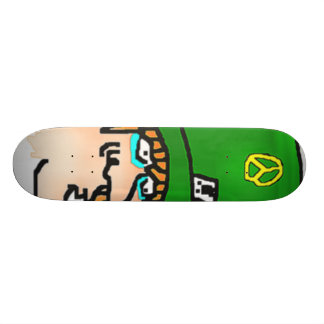 Classic Characters 1-5 Mad Hatter Skateboard Deck