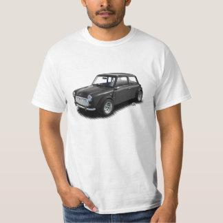 Classic Charcoal Mini Car on White T-Shirt