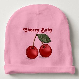 Classic Cherry Baby Customizable Pink Beanie
