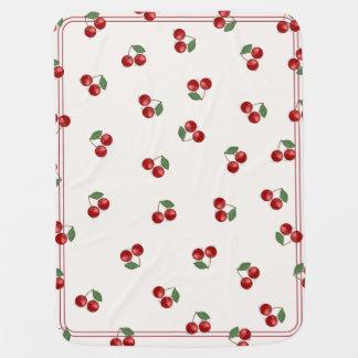 Classic Cherry Mash Up! Baby Blanket