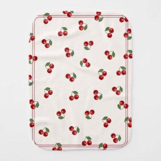 Classic Cherry Mash Up! Burp Cloth