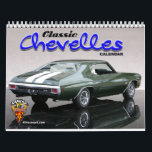 "Classic Chevelles Calendar<br><div class=""desc"">Chevrolet Chevelle muscle cars in a 12 month calendar. Classic Chevelles from days gone by.</div>"