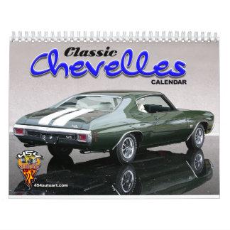 Classic Chevelles Calendar