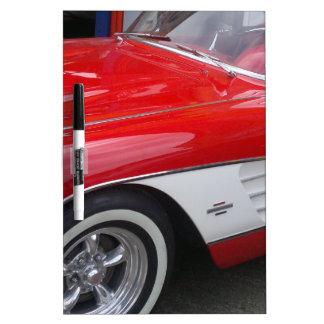 Classic Chevrolet Corvette Dry-Erase Board