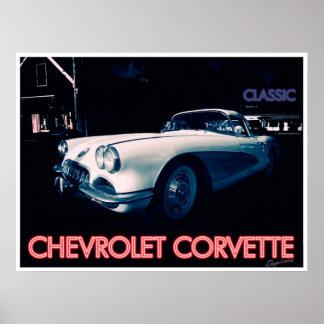 Classic Chevrolet Corvette Print