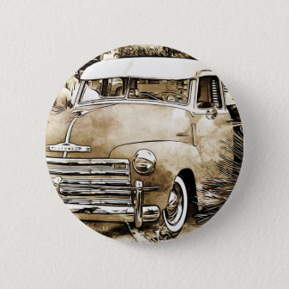 Classic Chevy Chevrolet Truck Button