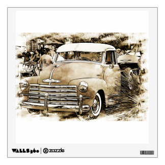Classic Chevy Chevrolet Truck Wall Sticker