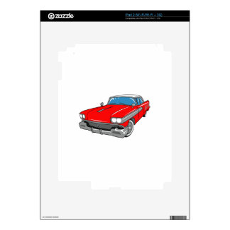 Classic Chevy iPad 2 Decals