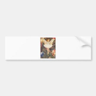 Classic Christmas Angel Bumper Sticker