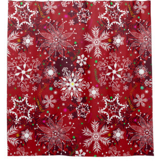 christmas shower curtains | zazzle