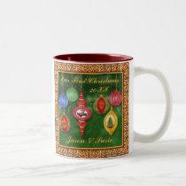 Classic Christmas Ornament 1st Christmas Mug
