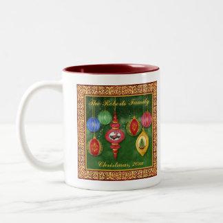 Classic Christmas Ornament Family Christmas Mug