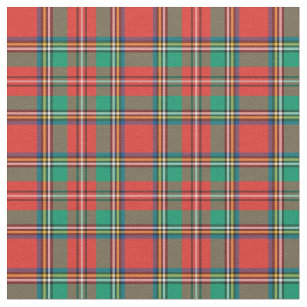 Clic Christmas Plaid Fabric