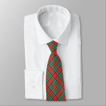 Christmas Themed Classic Christmas Plaid Neck Tie