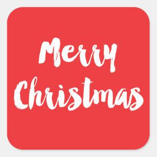 Classic Christmas Sticker