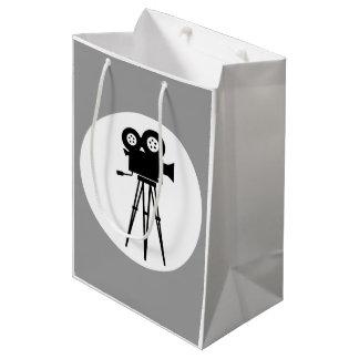 CLASSIC CINE CAMERA ICON MEDIUM GIFT BAG