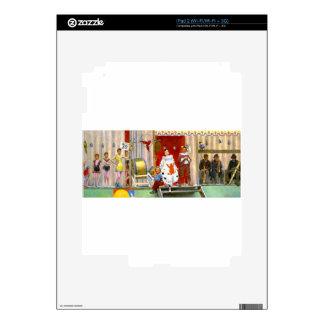 CLASSIC CIRCUS SCENE SKINS FOR iPad 2