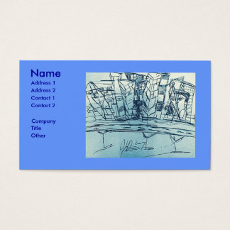 CLASSIC CITYSCAPE BUSINESS CARD