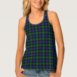 Classic Clan Blair Tartan Plaid Tank Top