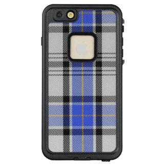 Classic Clan Hannay Scottish White Blue Tartan LifeProof FRĒ iPhone 6/6s Plus Case