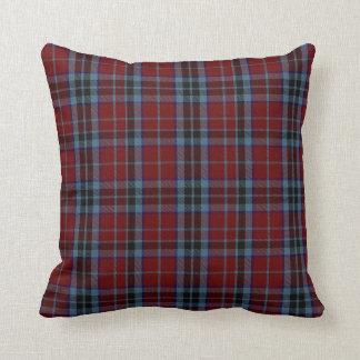 Classic Clan MacTavish Tartan Plaid Pillow