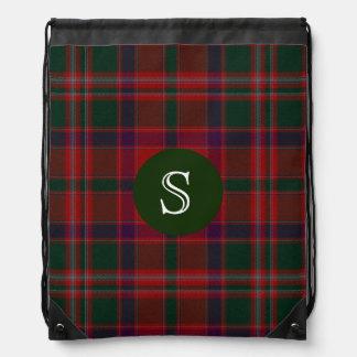 Classic Clan Stewart Tartan Plaid Backpack