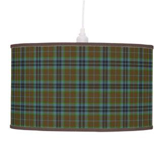 Classic Clan Thomson Tartan Plaid Hanging Lamp