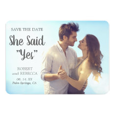 Classic & Clean Save The Date
