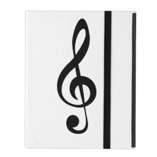 Classic clef iPad case
