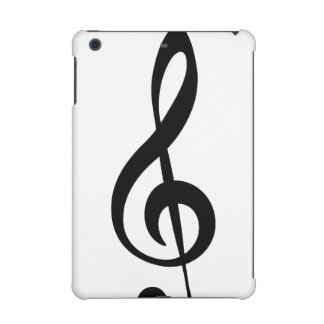 Classic clef iPad mini case