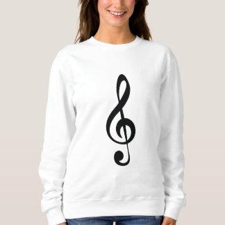Classic clef sweatshirt