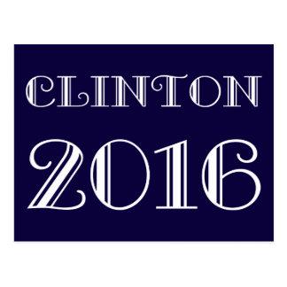 Classic Clinton 2016 Postcard