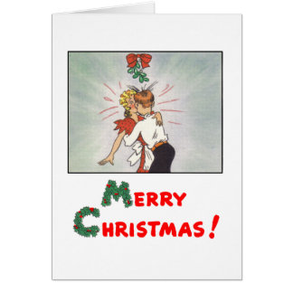 Classic Comic Strip Christmas Card